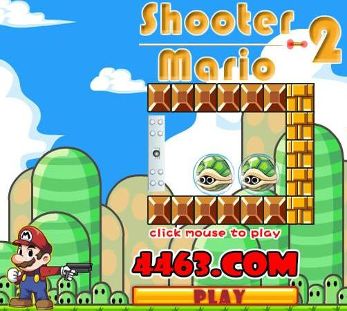 play super mario shooter 2 game 2014