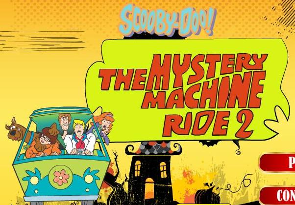scooby doo mystery machine ride 2 flash game