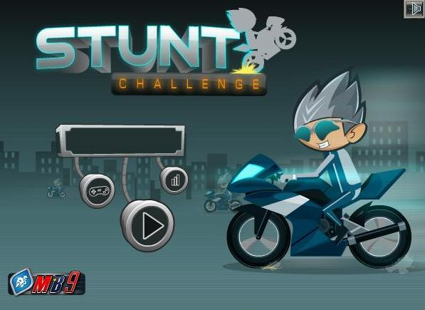 stunt challenge bike flash game