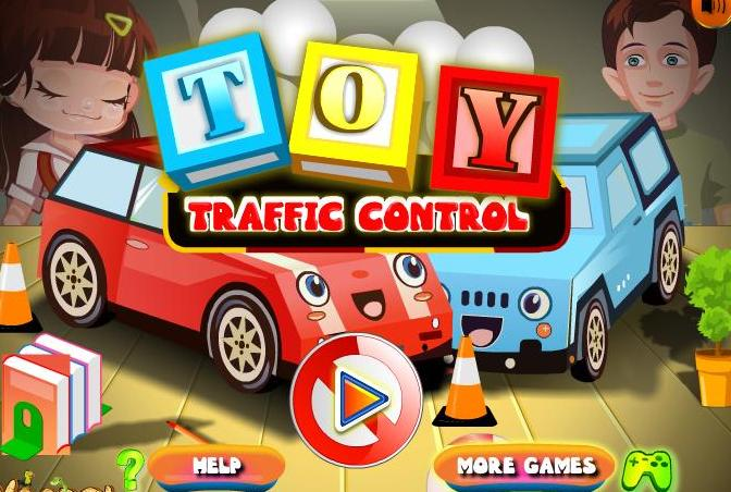 toy traffic control flash game 2014