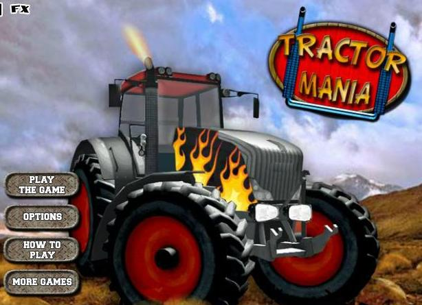 tractor mania flash game 2014