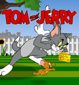 Tom and Jerry Mouse about the House Game Flash On