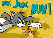 Tom and Jerry in Run Jerry Run Game Flash Online