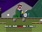 super mario halloween Game Flash Online