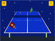 table tennis mario Game Flash Online