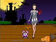 barbie in halloween free game flash online