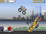 monster jam - destruction game car online