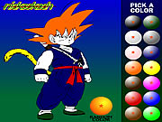 dragon ball z painting coloring game online free