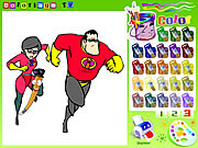 the incredibles color book game online free