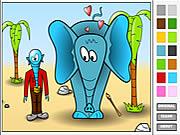 coloring strange love game online free