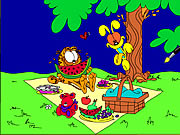 coloring garfield game online free