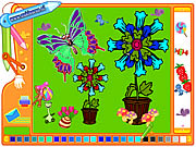 picture butterfly coloring game online free
