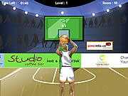 3 point shootout basketball sport game online free