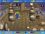 scooby doos pirate pie toss game online free