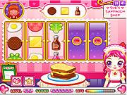 sue sandwich maker game kids online free