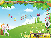 little angel archery contest shooting game online