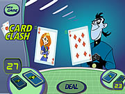 card clash kim possible game online