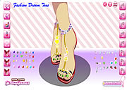 fashion dream toes nail free game on line
