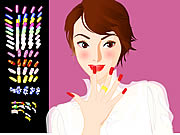nail art studio free game on line