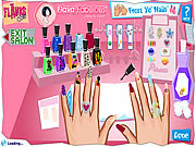 flava manicure design nails free game on line