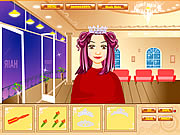 right cutting hair wedding free game online