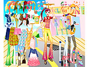 dress up summer shopping game online