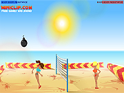 boom boom volleyball game 2 players online