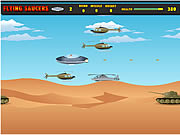 flying saucers game online