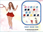 anna kournikova dress up game girls