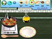 sara cooking class swedish meatballs game online