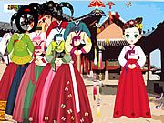 asian dress up game girls online