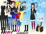 emo girl fashion dress up