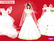 valentines day wedding dress up