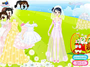 dream like wedding dress up