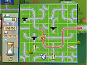 tom jerry cheese chasing maze free game