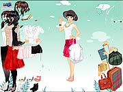 skirt and blouse dress up free girls online