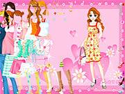 pink heart dress up free