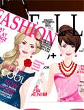 magazine cover girl