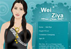 miss china wei ziya dress up
