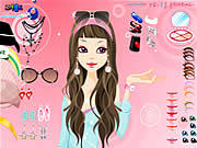 pure and clear beauty dress up free girl game onli