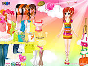 happy girl 5 dress up free