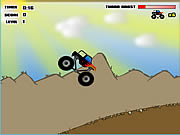 big truck adventures canyon run online game