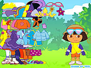 dora the explorer dress up online game