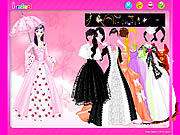 dress up umbrella gown free online game