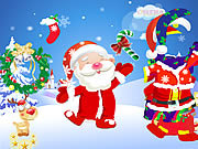 dress up santa claus is coming to town free online