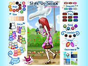 dress up style susan free online game