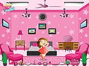barbie pink room free online game