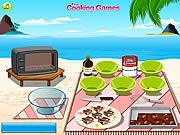 barbie cooking chocolate fudge free online game