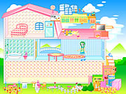 barbie house furniture rooms free online game