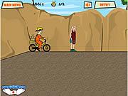naruto bike free online game